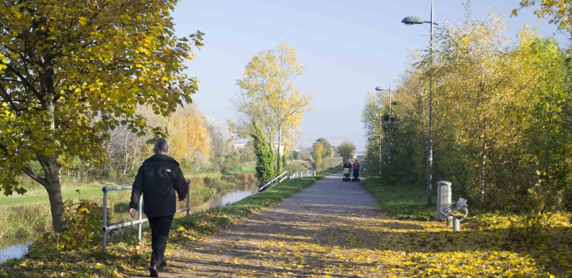 Grand Canal Way Green Route