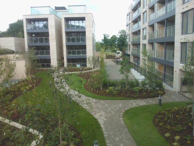 Dundrum Apartment Blocks Murray Associates Landscape Architecture Fascinating Apartment Landscape Design